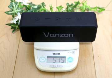vanzon バンゾン Bluetoothスピーカー x5 pro の重さ515g