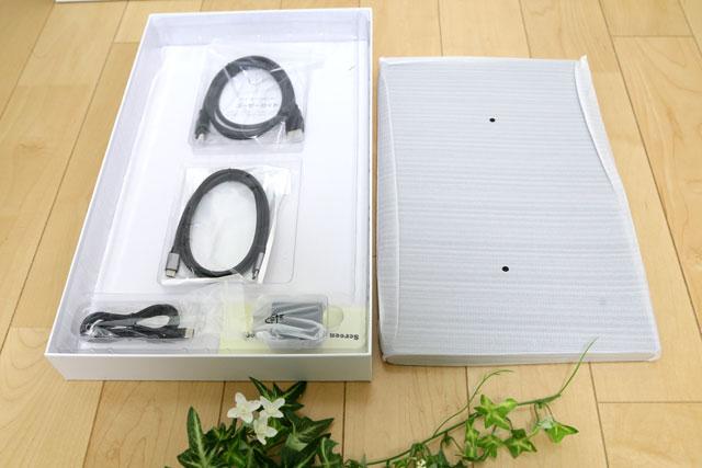 Lepow z1(Lepowz1)の箱を開封! 付属ケーブルやアダプターが入っています。
