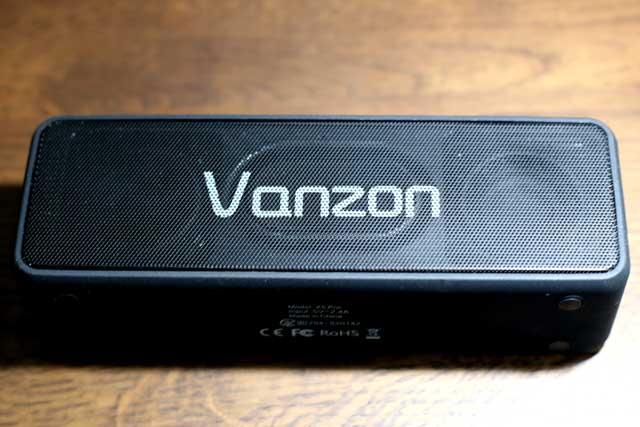 vanzon バンゾン Bluetoothスピーカー x5 pro  前面
