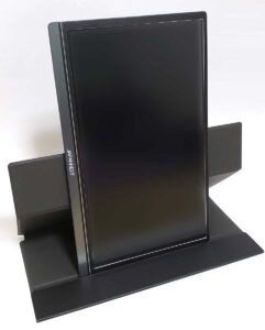 モバイルモニター「JN-MD-IPS1562FHDR」のスマートケースを縦置きスタンドとして使用
