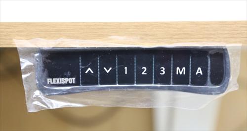 スタンディングデスク「FlexiSpot E6シリーズ」のコントロールパネル保護フィルム