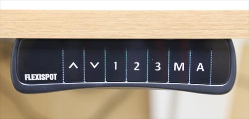 スタンディングデスク「FlexiSpot E6シリーズ」のコントローラー
