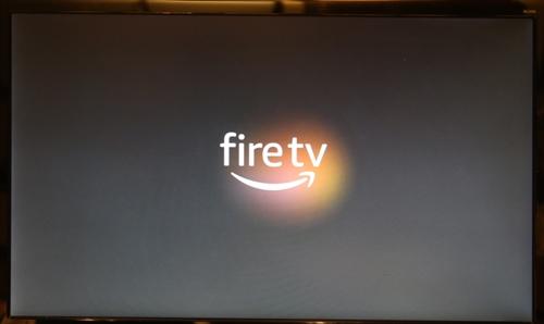 Fire TV Stick(第3世代)の起動ロゴ
