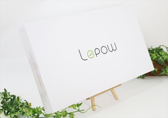 Amazonから届いたLepow z1モバイルモニター(新品)
