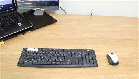 ロジクール ワイヤレスキーボード K370s