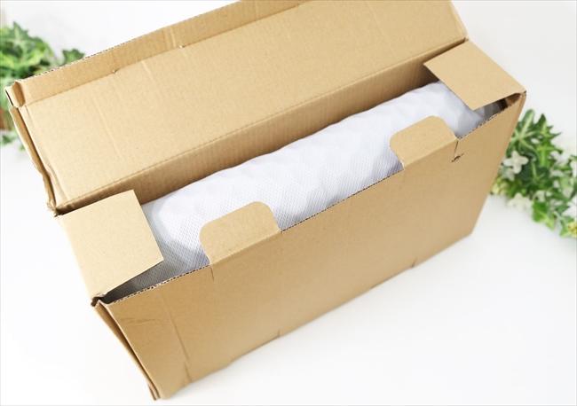 ハニカムゲルクッションのパッケージ ゲーミングチェアの蒸れ対策