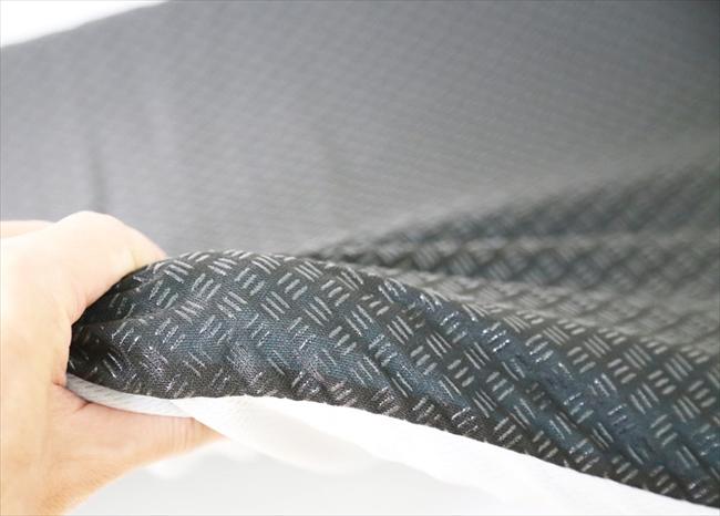 ハニカムゲルクッションは弾力のあるブヨブヨとした感触のクッション ゲーミングチェアの蒸れ対策